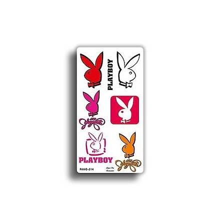 Playboy Pano 23x12 cm Sticker