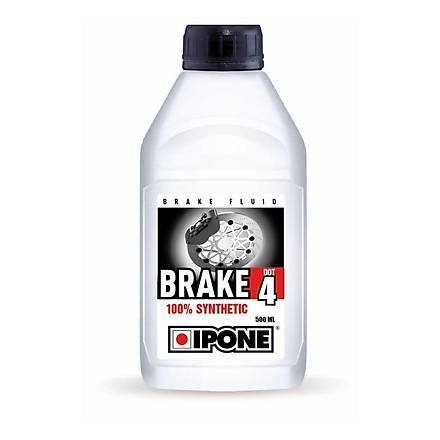 IPONE Brake DOT 4 %100 Sentetik Fren Hidrolik Sývýsý- 500 ML