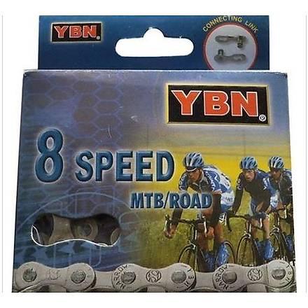 Ybn S8 24 Vites Uyumlu Bisiklet Zinciri