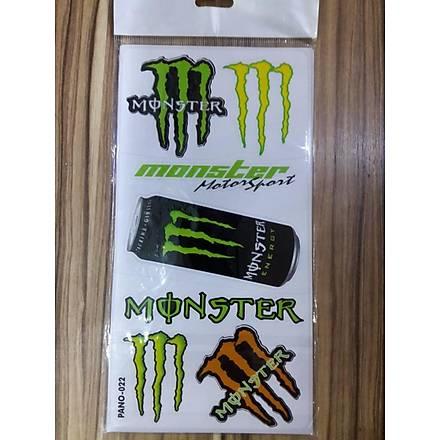 Monster Energy Sticker Seti Pano