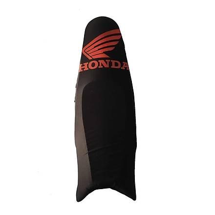 Honda Baskýlý Koltuk Kýlýfý Siyah Kýrmýzý