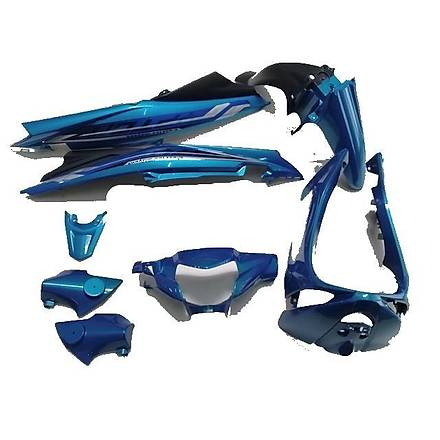 Yamaha Crypton 115 Kaporta Seti Mavi (8 Parça)