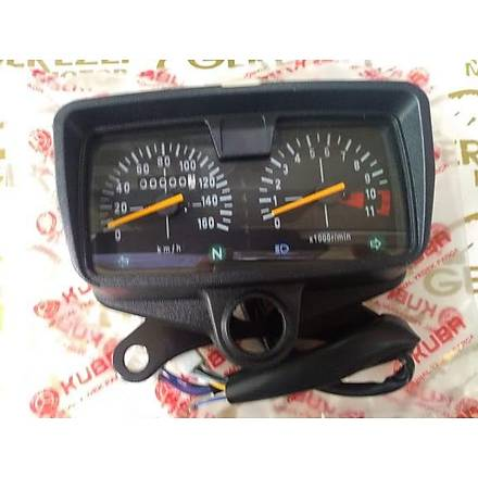 Kuba Orijinal Kilometre Saati 160 Lýk Vites Göstergeli-Analog 150-R (Çift Telli)