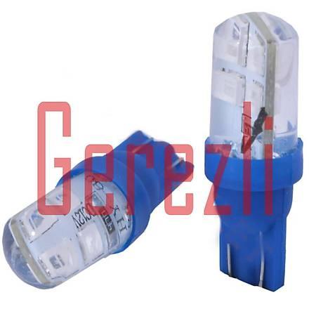 T10 8 Ledli Dipsiz Ampul Mavi 2 Adet