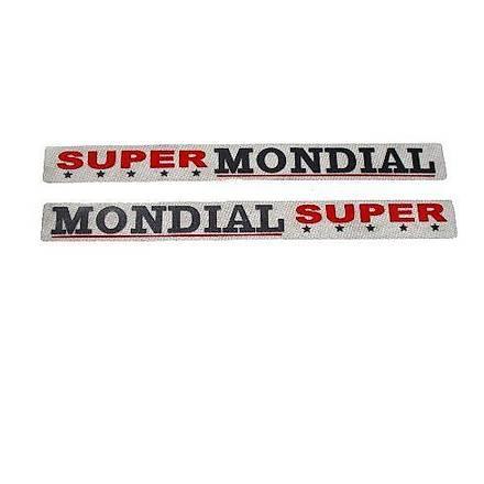 Mondial MCT250 Ön Amortisör Amblem Takýmý