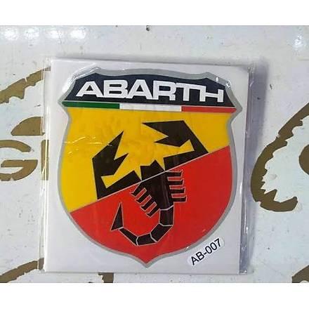 Abarth Akrep Sticker (10cm x 9cm)