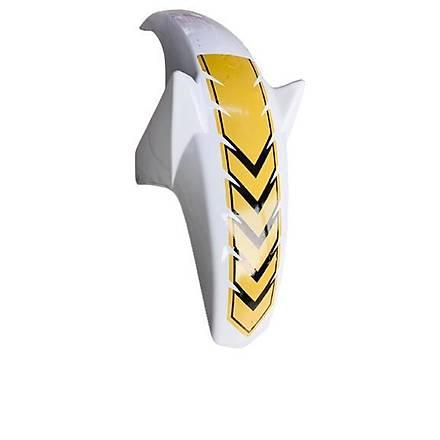 Cg Ön Çamurluk Ybr Modifiye Beyaz Sarý Stickerli
