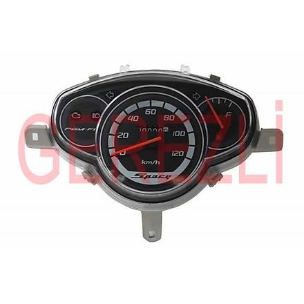 Honda Spacy 110 Kilometre Saati