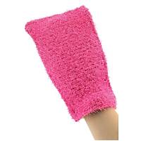 Beauty Glove Dual Peeling (Kese+Sabunluk) - Açýk Kýrmýzý