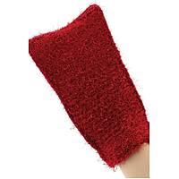 Beauty Glove Dual Peeling (Kese+Sabunluk) - Koyu Kýrmýzý