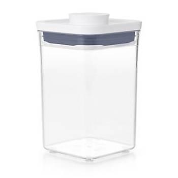 OXO POP Küçük KARE - KISA - 1,1 qt /1 L