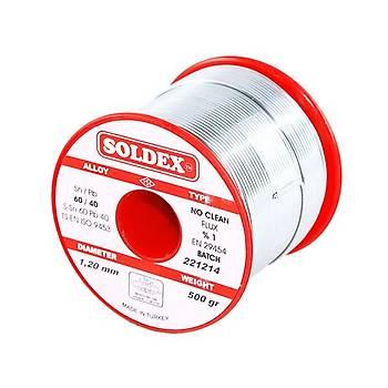 Soldex 60/40 1.20mm Lehim Teli 500gr