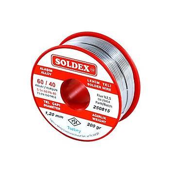 Soldex 60/40 1.20mm Lehim Teli 200gr