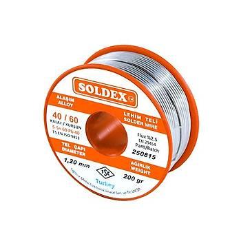 Soldex 40/60 1.20mm Lehim Teli 200gr