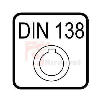 Prizma Freze 90° 50 mm DIN 847 (1 Adet)