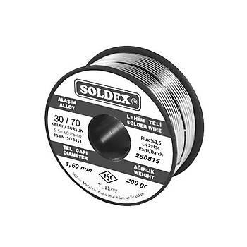 Soldex 30/70 1.60mm Lehim Teli 200gr