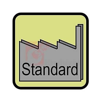 Havþa Freze 90° DIN 335/C 3 Aðýzlý 16,5 mm HSS TiN (Cztool) (1 Adet)
