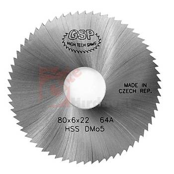 Metal Daire Testere HSS DIN 1837 A 032x4,0 mm 32 Diþ (GSP) (1 Adet)
