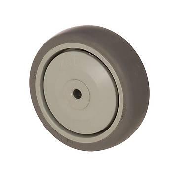 Zet / MER 10032 / 100 mm Çaplý Moblen (PP) Üzeri Termoplastik Kaplý Rulmanlý Makara