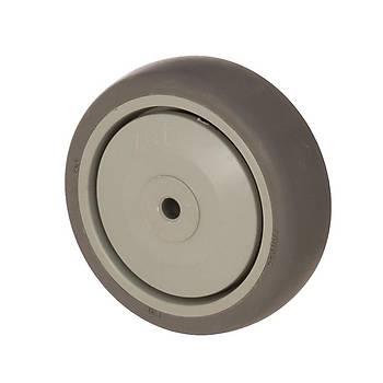Zet / MER 12532 / 125 mm Çaplý Moblen (PP) Üzeri Termoplastik Kaplý Rulmanlý Makara