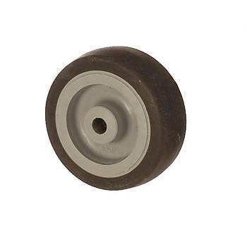 Zet / MEB 07525 / 75 mm Çaplý Moblen (PP) Üzeri Termoplastik Kaplý Burçlu Makara