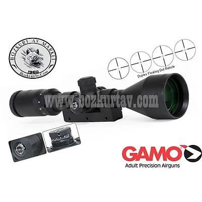 Gamo GE 3-9x50 RGB Iþýklý Tüfek Dürbünü
