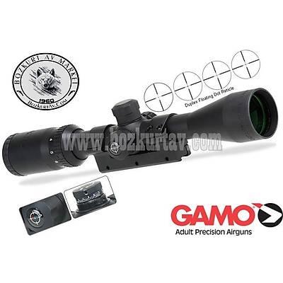Gamo GE 3-9x40 RGB Iþýklý Tüfek Dürbünü