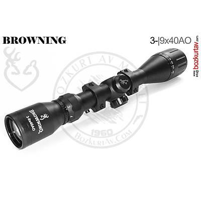 Browning 3-9x40 AO Zoomlu Tüfek Dürbünü