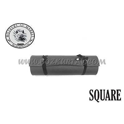 Square 12 mm Gri Mat
