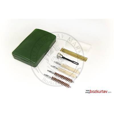 Plastik Çantalý 38 Kalibre - 9 mm Tabanca Temizlik Seti