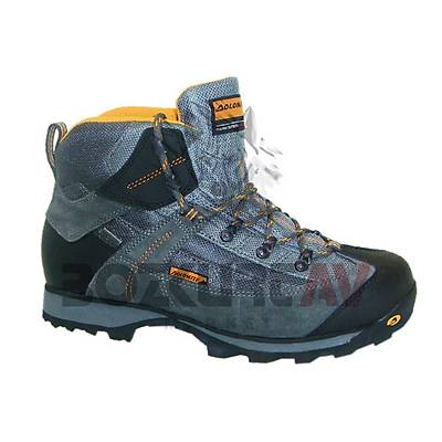 Dolomite Stelvio Evo Gore-Tex Dark Grey Orange Bot