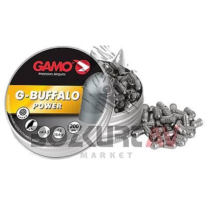 Gamo G-Buffalo 4,5 mm Havalý Tüfek Saçmasý (15,42 Grain - 200 Adet)