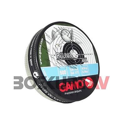 Gamo Round 4,5 mm Havalý Tüfek Saçmasý (8,18 Grain - 500 Adet)