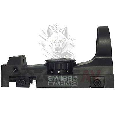 Cybergun Swiss Arms Tactical Weaver Hedef Noktalayýcý Red Dot Sight