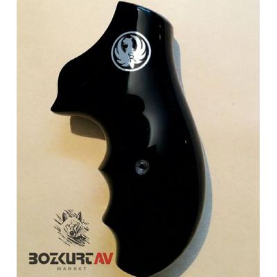 Ruger SP101 Siyah Pleksi Tabanca Kabzasý