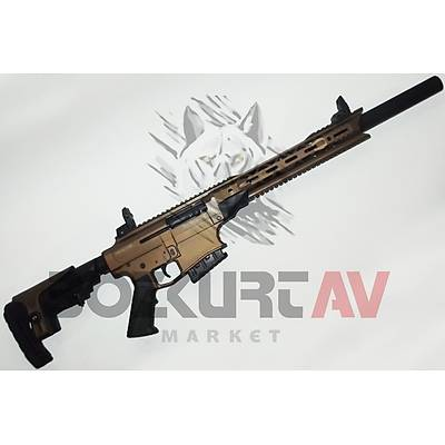 Derya MK-12 AS-100S Full Metal Bronz Otomatik Av Tüfeði