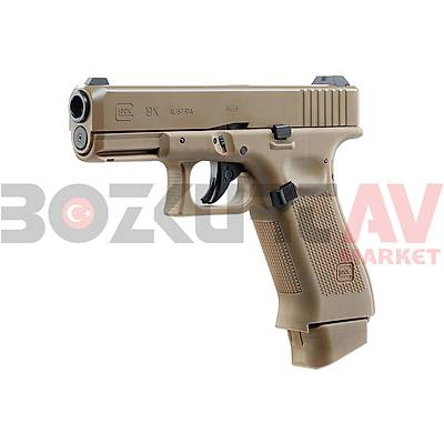 Glock 19X Desert Blowback Airsoft Havalý Tabanca (CO2)