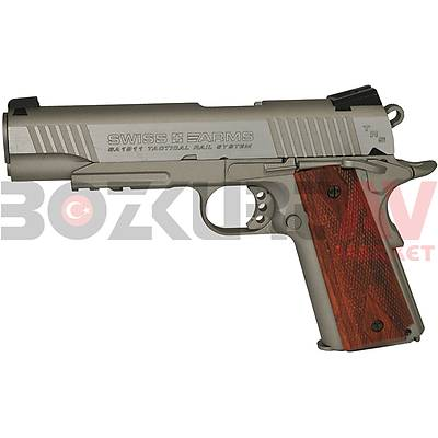 Cybergun Swiss Arms SA1911 Tactical Rail Blowback Havalý Tabanca