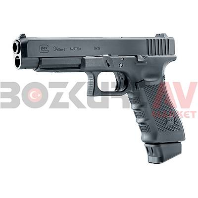 Glock 34 Gen4 Deluxe Blowback Airsoft Havalý Tabanca (CO2)