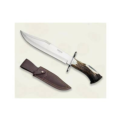 Joker Knives CN101 Geyik Boynuzu Saplý Büyük Bowie Býçak