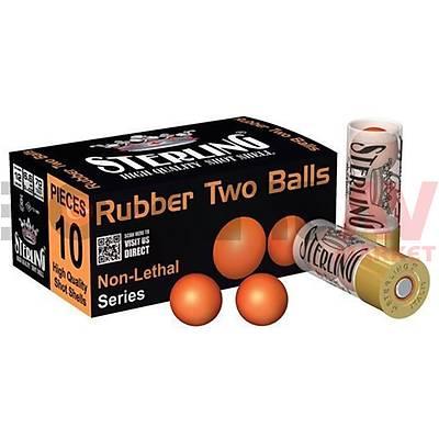 Sterling Rubber Two Balls 12 Kalibre Savunma Fiþeði