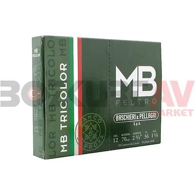 B&P MB Tricolor 36 Gram 12 Kalibre Av Fiþeði