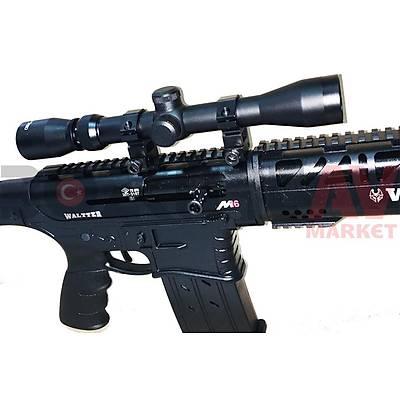 Waltter M16 Tactical Metal ULTIMATE COMBO Otomatik Av Tüfeði