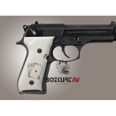 Hogue Beretta FS 92 Ace Polimer Kabza