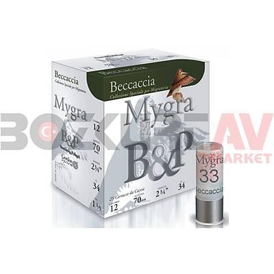 B&P Mygra Beccaccia 34 Gram 12 Kalibre Av Fiþeði