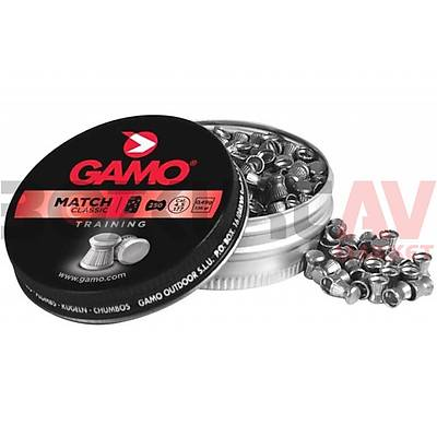 Gamo Match 4,5 mm Havalı Tüfek Saçması (7,56 Grain - 500 Adet)