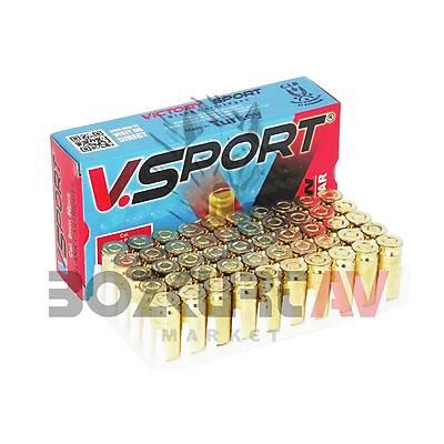 Victory Sport 9 mm 10 Paket Kurusýký Tabanca Mermisi