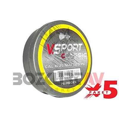 Victory Sport Classic 6,35 mm 5 Paket Havalý Tüfek Saçmasý