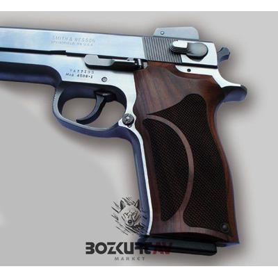Smith & Wesson 4506 Ortopedik / Gül Aðacý Tabanca Kabzasý