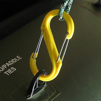 Nite-ize S-Biner Plastik Size 2 Yellow